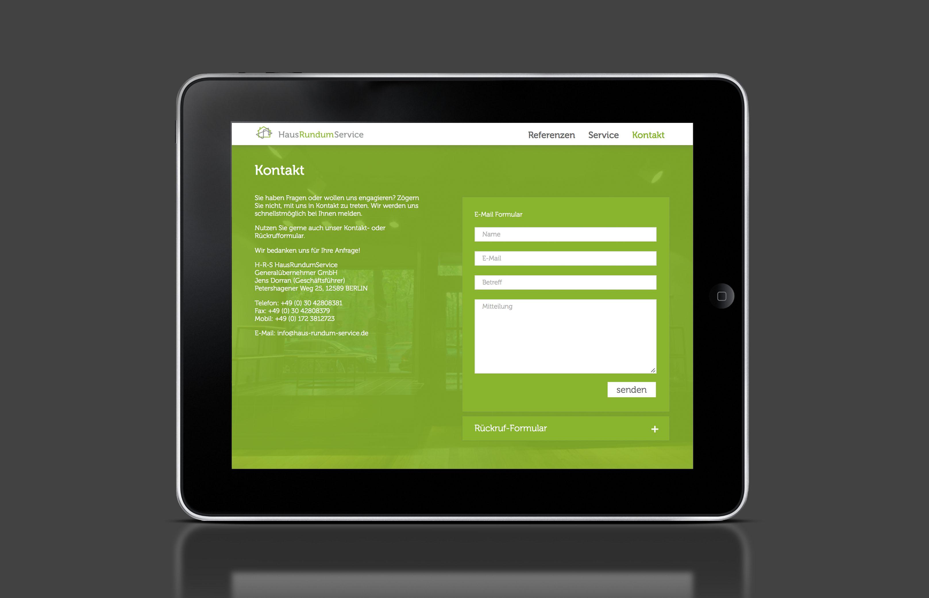 Baroneska_Website_Tablet_Kontakt_HausRundumService